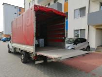 Mutari bagaje, mutari mobilier, transport