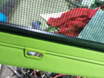 Rulou portbagaj+plasa animale, x5 e70 , piesa originala