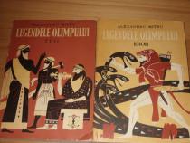 Legendele Olimpului ( 2 vol, editia 1973, cu ilustratii ) *