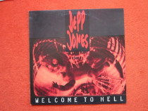 Vinil Depp Jones ‎-Welcome To Hell-1st Ed.,made Germany'91