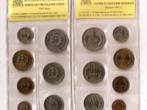 Bulgaria 1962: set 7 monede necirculate