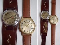 2 ceasuri barbatesti Slava, cal. 2414 si 2428, anii '80