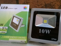 Proiector LED SMD 10W Economic Slim 6500K ( Lumina Rece) C45