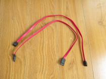 Doua bucati - Cablu RED SERIAL ATA 26 AWG E189529 2725