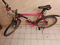 "Bicicleta Mountain Bike TERRAFOX, suspensii, barbati, 26"""