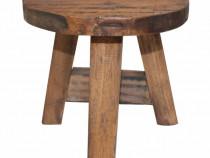 Scaun din lemn masiv reciclat 20x20x23 cm 244508
