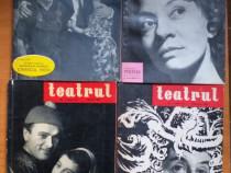 """Revista """"Teatrul"""" anii 1960-1980."""