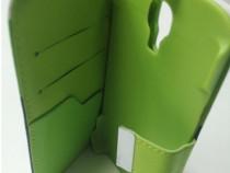 Husa Telefon Flip Book Samsung Galaxy S4 i9500 Green