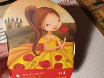 Mini Puzzle Frumoasa si Bestia - 24 piese