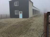 Hala nou construită Letea Veche  Bacau periferie 300mp