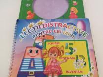 Set 2 carti - Lectii distractive ptr cei mici si Cantece