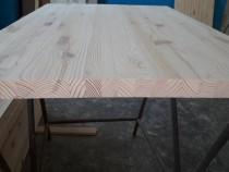 Blat 2400 x 600 x 30 mm din lemn masiv de pin