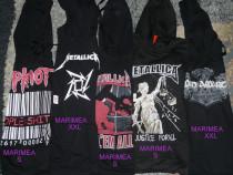 Hanorac Metallica ,Slipknot,Amon Amarth,bluza,pulover+altele