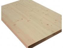 Blat 1600 x 600 x 43 mm din lemn masiv de pin
