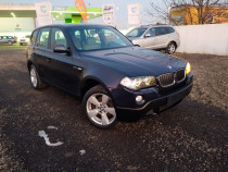 Bmw x3 an 2007 diesel 2.0 150 cp cash rate leasing