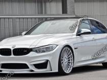 Prelungire buza bara fata BMW M3 F80 F30 F31 2014-2019 v1
