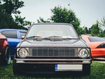 Grila sport tuning fara emblema VW Golf 1 MK1 CROM NOU
