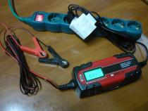 Redresor auto moto, baterie 12V-6V, inteligent, display NOU