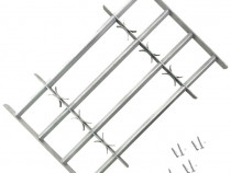 VidaXL Grilaj ajustabil pentru ferestre, cu 4 bare141386
