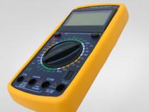 Multimetru Digital DT9208A Frecventa Temperatura
