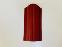 Șipcă metalică 2,5D zincată fălțuită vopsită 9 cm