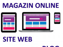 Creare magazin online, site web de prezentare sau blog