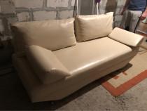 Canapea extensibila din piele ecologică !