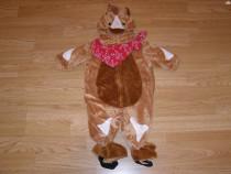 Costum carnaval serbare animal calut cal 3-6 luni