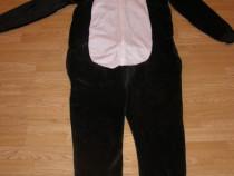 Costum carnaval serbare animal urs panda pentru adulti XL