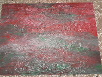 Tablou abstract 37/49 cm