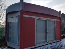 Două chiosc organizare santier/container/magazin/birou mobil