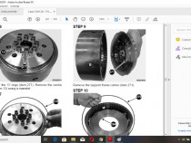 Manual service reparatii Tractor CASE /STEYR cvx/cvt 120 130