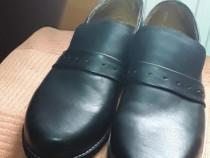 Pantofi din piele nr 41