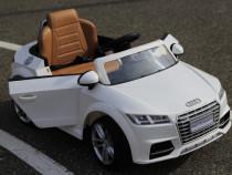 Masinuta electrica Audi TTS 2x35W 12V Premium #alb