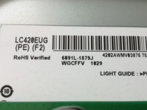 Bareta led display lc420eug pe f2,6922-0023a tv lg 42lm669
