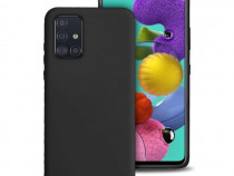 Husa Telefon Silicon Samsung Galaxy A71 a715 Matte Black