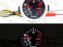 Ceas turbo boost 3PSI diametru 52mm
