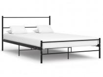 Cadru de pat, negru, 140 x 200 cm 286497