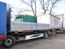 Remorca Krone an 2008, cu container fara prelata/cu prelata