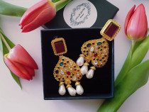 Cercei stil oriental, regal- lux, petrecere