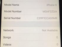 Apple iPhone 6 Space Gray 64GB - neverlock - baterie noua