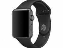 Curea bratara silicon apple iwatch 38-40 black produs nou
