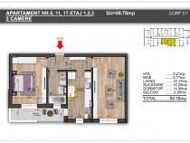 Apartament 2 camere dec in apropiere metrou Dimitrie Leonida