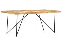 Masă de bucătărie, 180 x 90 x 76 cm, lemn 282880