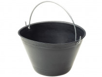 Găleată din plastic neagră