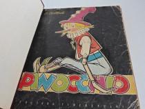 Carte pentru copii collodi pinocchio editia 1958