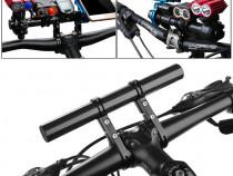 Extensie 20 cm ghidon bicicleta trotineta organizator cursie