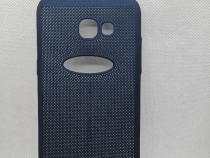 Husa Telefon Plastic Samsung Galaxy A5 2017 a520 Mesh Blue