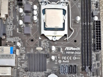 Placa de baza ASRock H81M-DG4 Socket 1150 + Intel Core i3-41