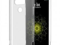 Husa telefon silicon lg g5 clear grey ultra thin produs nou